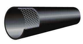 Polyethylene Composite Steel Wire Mesh Framework