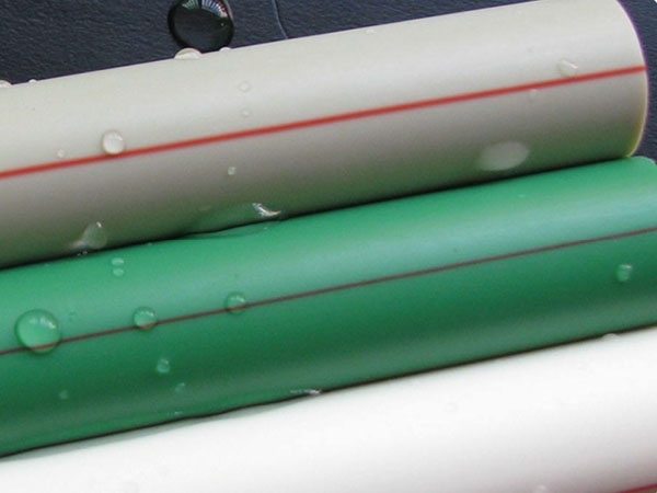 PPR polypropylene pipe for hot and cold water