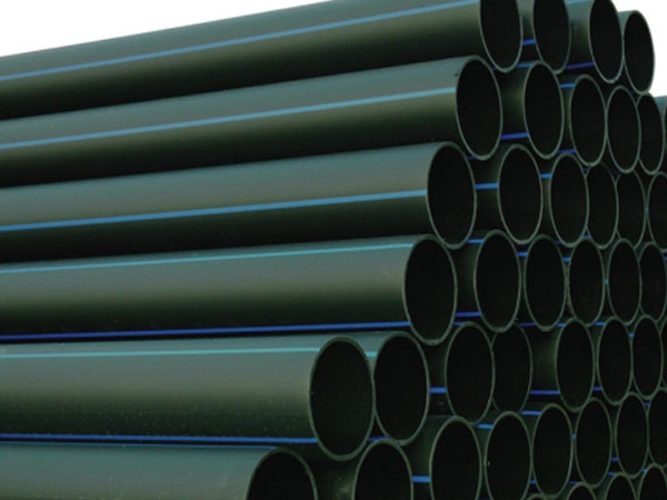 Polyethylene pipe for water supply